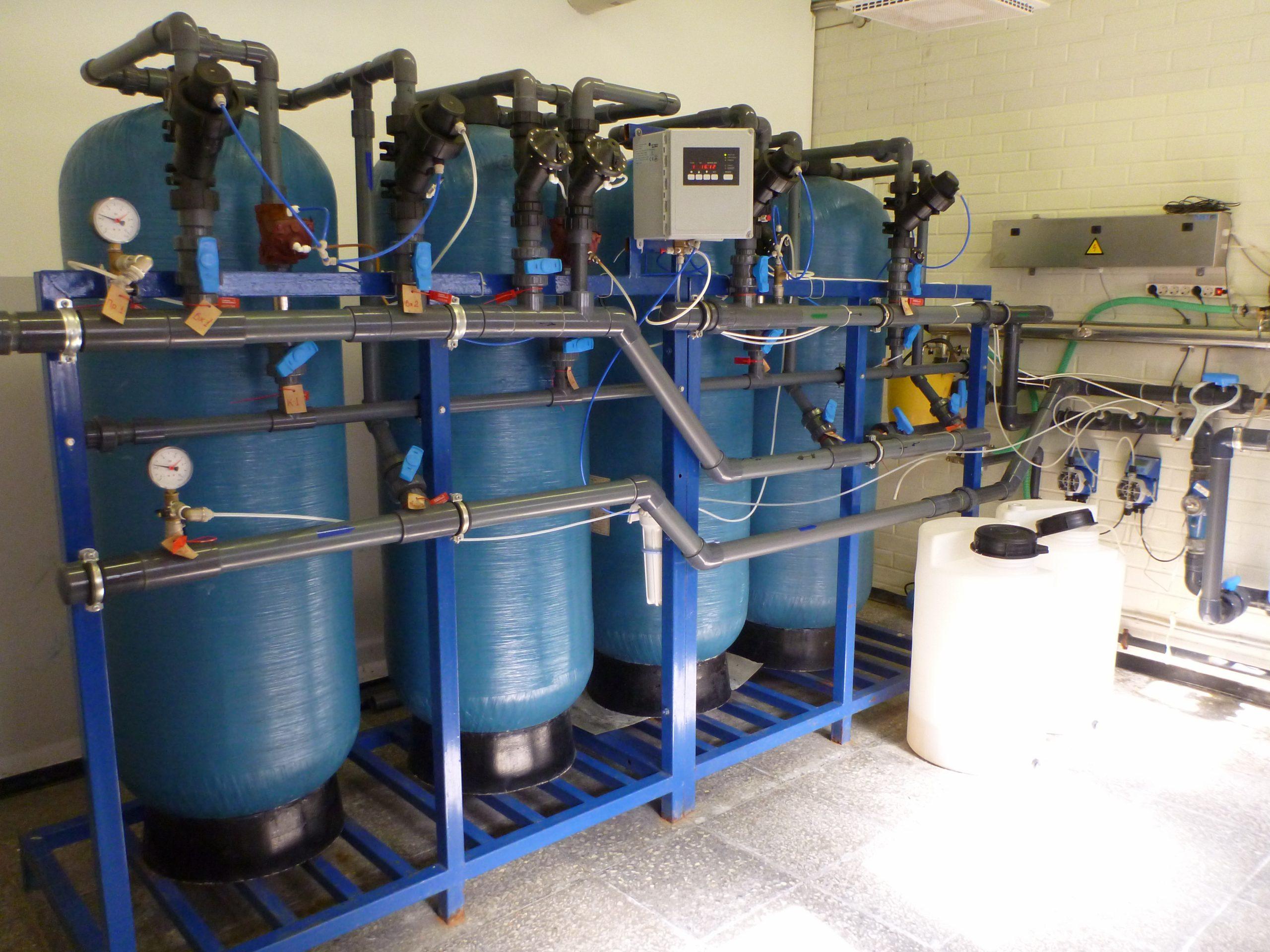 система очистки воды многоквартирного дома