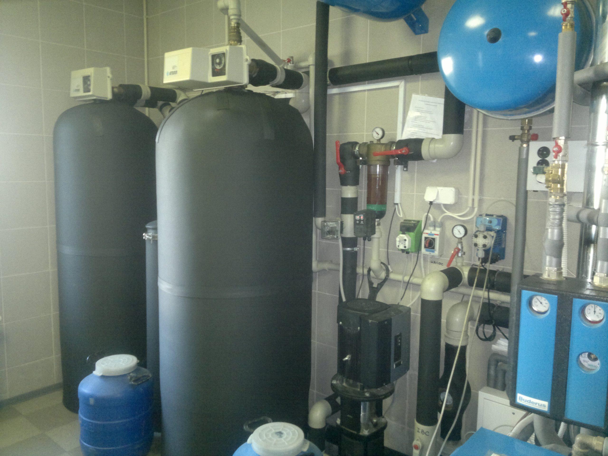 станция очистки воды для частного дома
